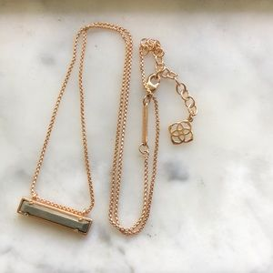 Kendra Scott Leanor Color Bar Necklace
